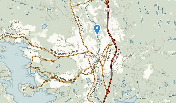 Bracebridge, Ontario Map