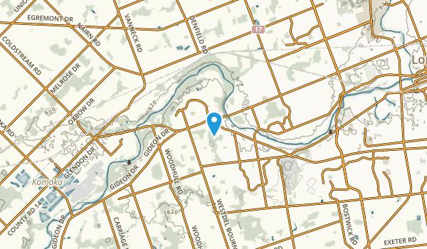 Byron, Ontario Map