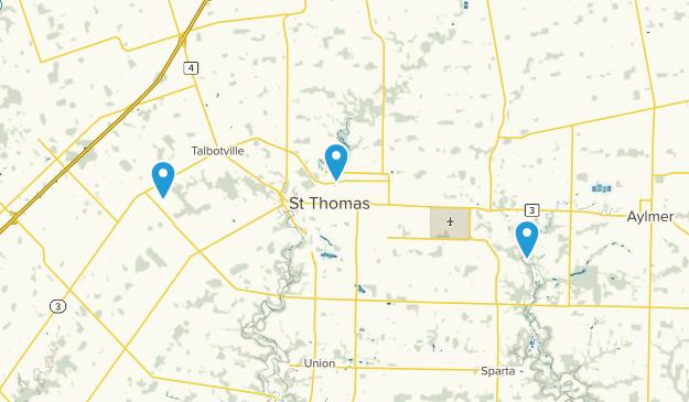 Central Elgin, Ontario Map
