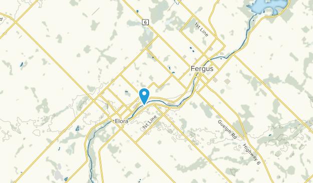 Centre Wellington, Ontario Map