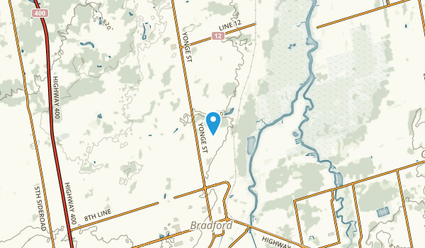 Coulson's Hill, Ontario Map