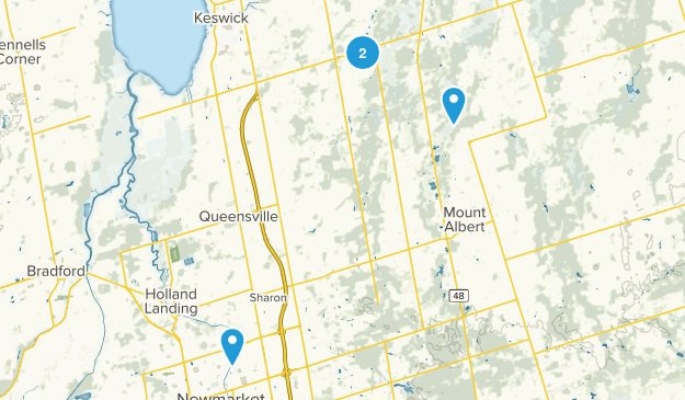 East Gwillimbury, Ontario Map