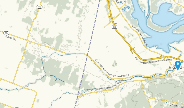 Map Of Hawkesbury Ontario