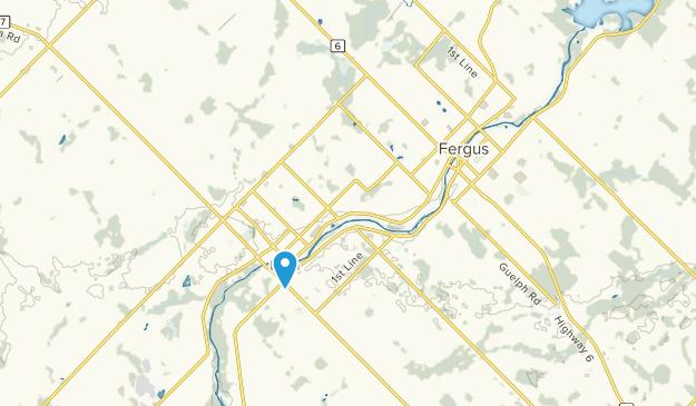 Elora, Ontario Map