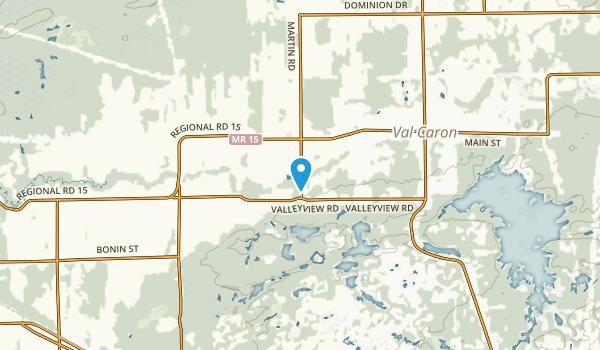 Flake, Ontario Map