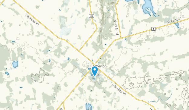 Flesherton, Ontario Map