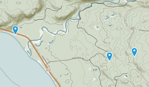Frater, Ontario Map