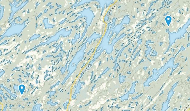 Frontenac, Ontario Map
