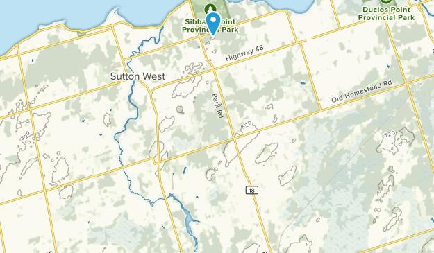 Georgina, Ontario Map
