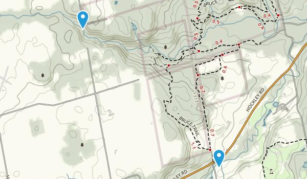 Glen Cross, Ontario Map