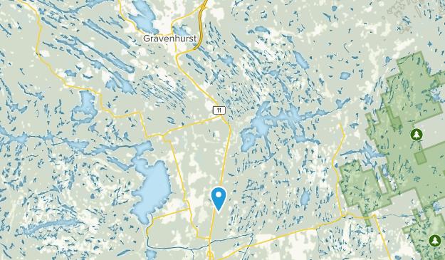 Gravenhurst, Ontario Map
