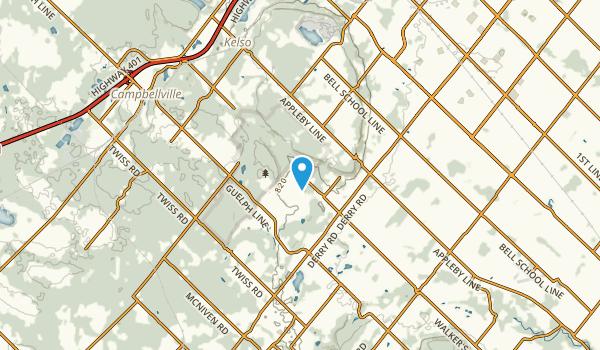 Kelso, Ontario Map