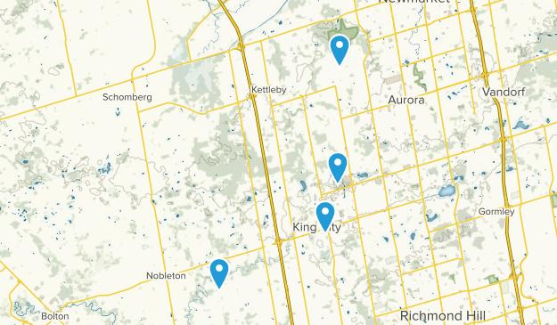 King, Ontario Map