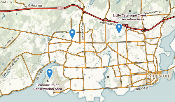 Kingston, Ontario Map