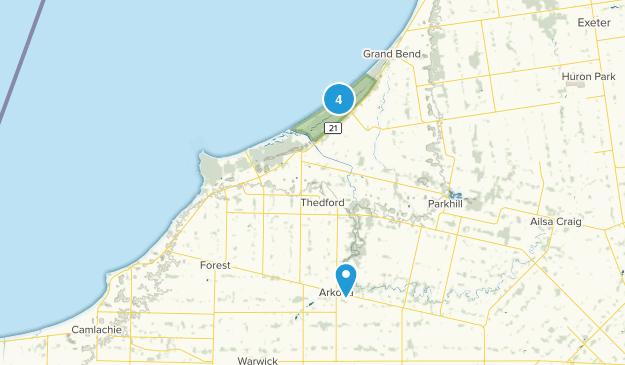 Lambton Shores, Ontario Map