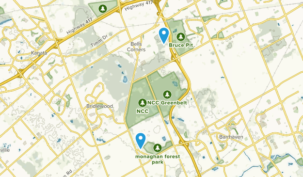 Lynwood Village, Ontario Map