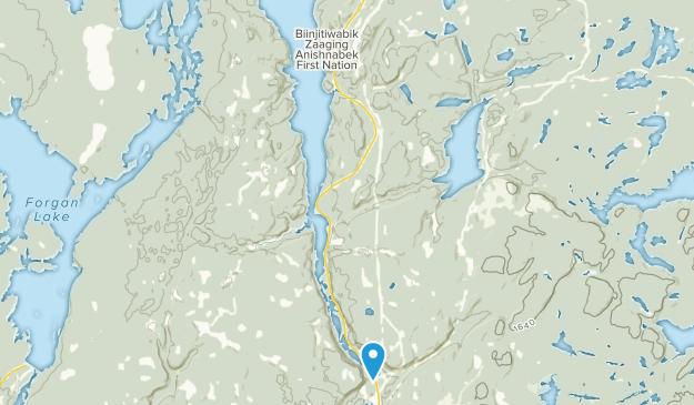 Macdiarmid, Ontario Map