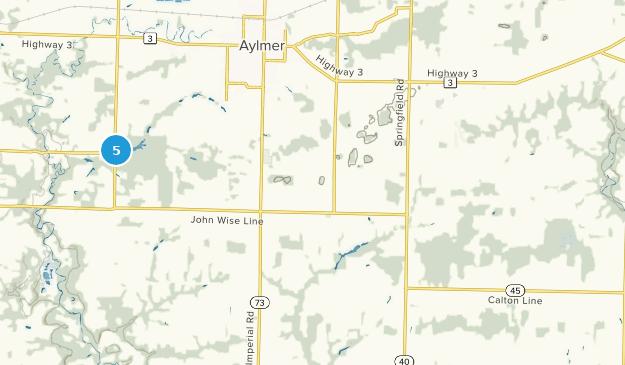 Malahide, Ontario Map