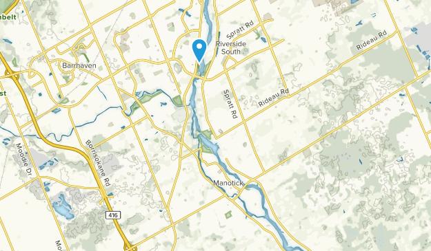 Manotick, Ontario Map