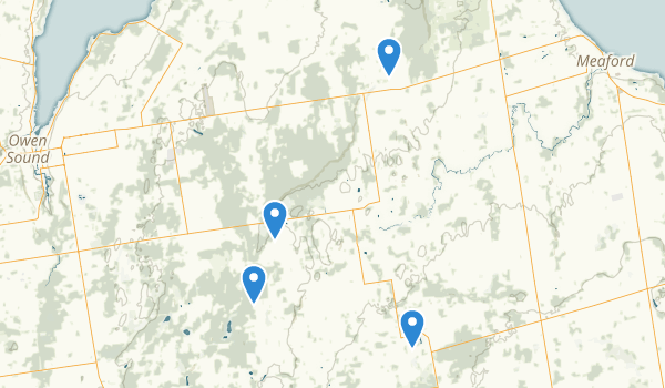Meaford, Ontario Map