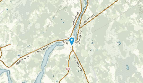 Merrickville-Wolford, Ontario Map
