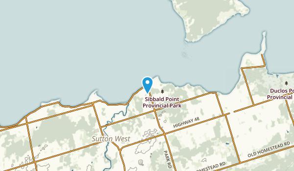 Mossington Park, Ontario Map