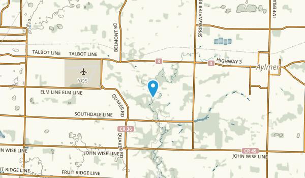 New Sarum, Ontario Map