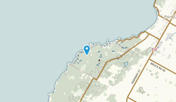 North Bruce, Ontario Map