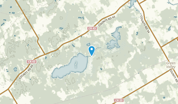 North Glengarry, Ontario Map