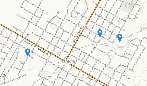 North Perth, Ontario Map