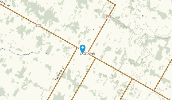 North Perth, Ontario Map