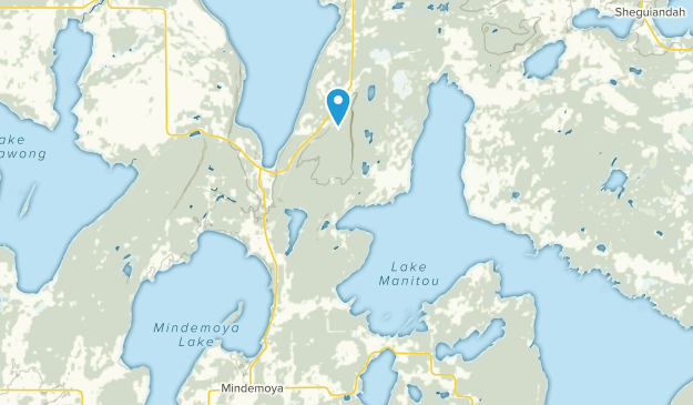 Northeastern Manitoulin And The Islands, Ontario Map