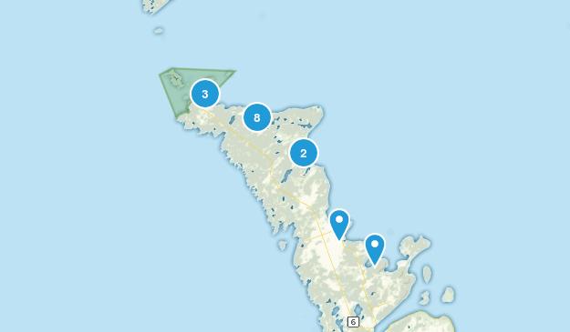 Northern Bruce Peninsula, Ontario Map