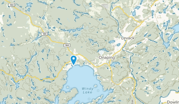 Onaping, Ontario Map