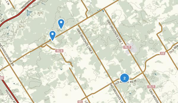Oro-Medonte, Ontario Map