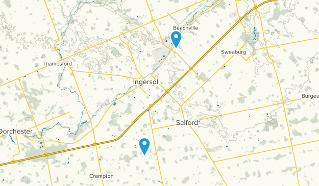 Oxford, Ontario Map
