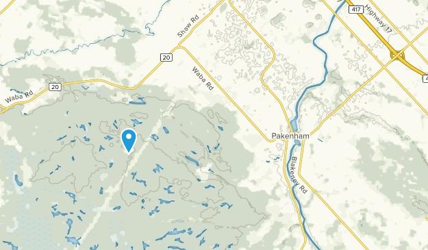Pakenham, Ontario Map