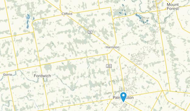 Palmerston, Ontario Map