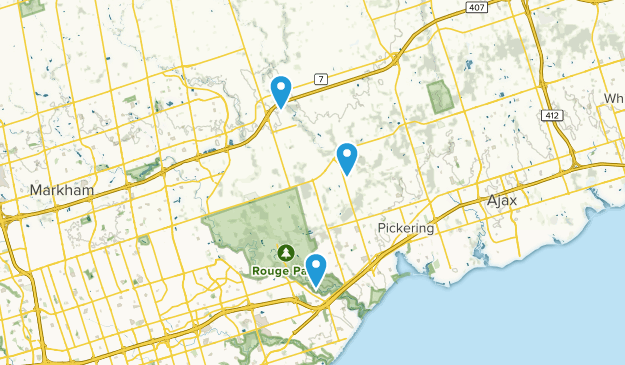 Pickering Map Ontario