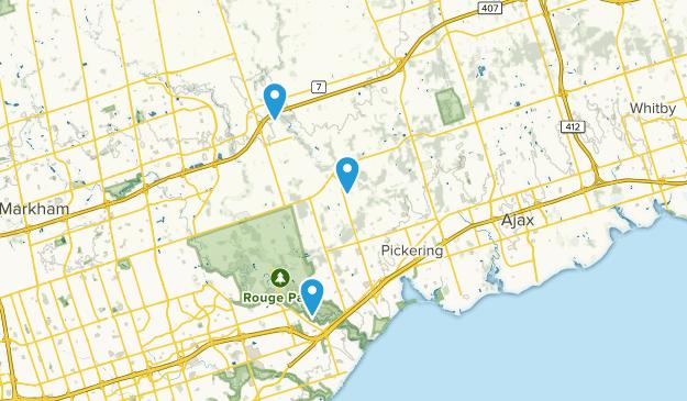 Pickering, Ontario Map