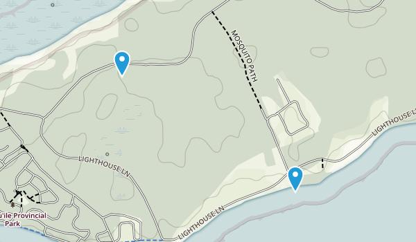 Presqu'ile Point, Ontario Map