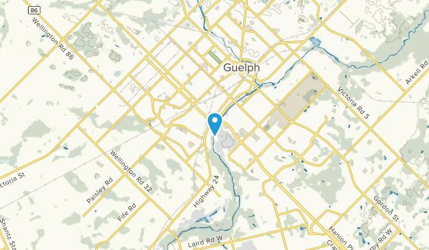 Priory Park, Ontario Map