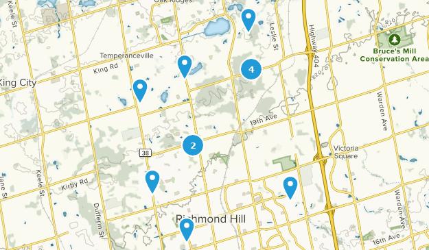 Map Of England Keele.Best Trails Near Richmond Hill Ontario Canada Alltrails