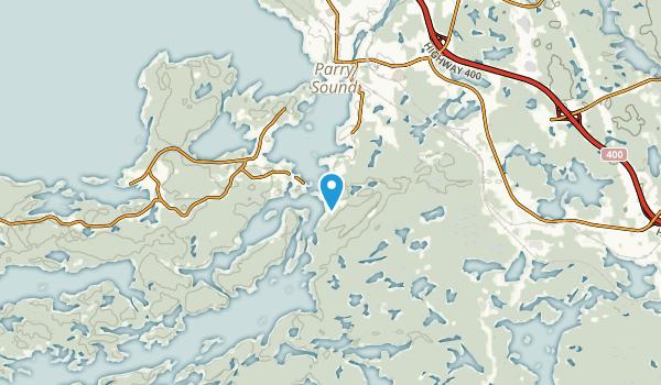 Rose Point, Ontario Map