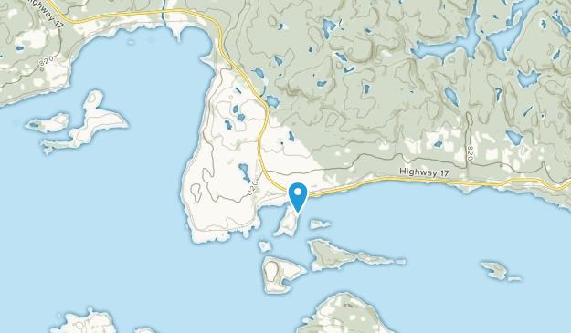 Rossport, Ontario Map