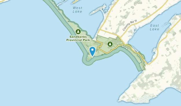 Sand Banks, Ontario Map
