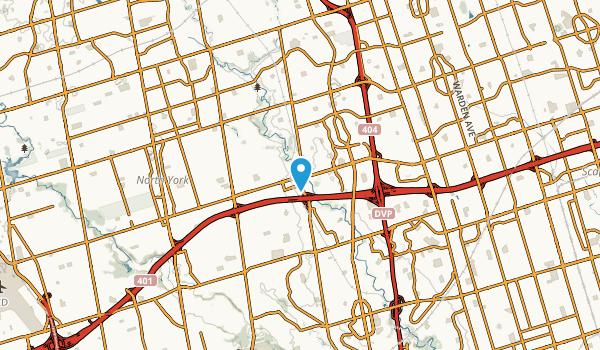 Silver Hills, Ontario Map
