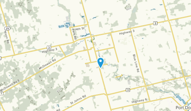 Simcoe, Ontario Map