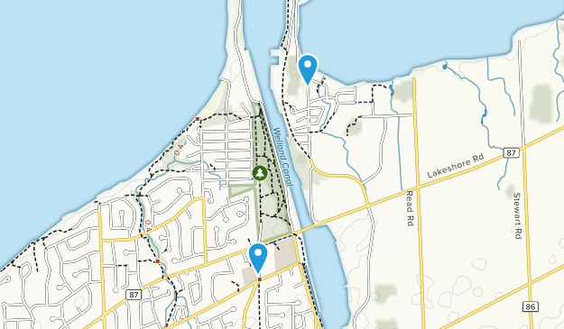 St Catharines, Ontario Map