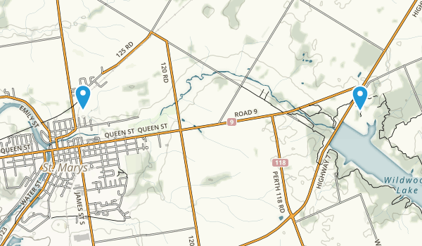 St Marys, Ontario Map